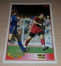 CARD SCORE ROMA NELA CALCIO FOOTBALL SOCCER ALBUM