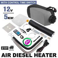 de 5KW 5000W 12V Air diesel Heater For Cars Truck Boat Bus Van Trailer ee