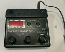 Pasco Sine Wave Signal Generator Wa 9867