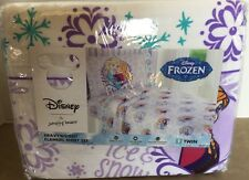 Kohls Frozen Movie Flannel Twin Sheet Set Elsa Anna NIP Cute Warm Heavyweight