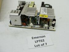 Emerson/Astec LPT62 Power Supply 120 VAC Input +5,+12, -12 VDC Output.