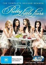 PRETTY LITTLE LIARS (COMPLETE SEASON 2 DVD SET SEALED + FREE POST)