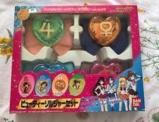 Sailor Moon Supers Bow Set Bandai Venus Senshi Wand Locket Cosplay Japan Compact