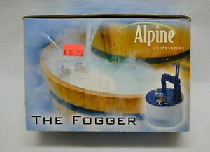 Alpine The Fogger Water Feature Fountain Indoor Outdoor Drama NOS Feng Shui