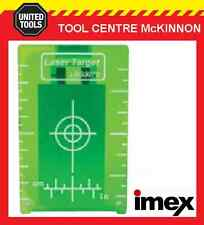 IMEX GREEN BEAM MAGNETIC LASER TARGET PLATE FOR ROTARY AND LINE LASERS