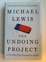 The Undoing Project by Michael Lewis, 1st Edition / 1st Printing, 2017 Big Short