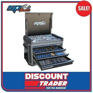 SP Tools Tech Series Chest Tool Kit 212 Piece Metric Only Diamond Black SP50033D