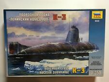 "Zvezda"" Kursk ""Submarino 1/350 escala navales kit de modelismo"