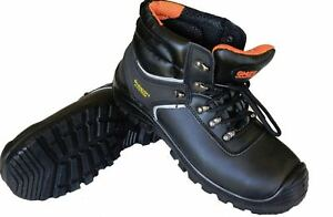 Safety Work Shoes Boots Steel Toe Cap Antistatic Antislip Oil Resistant