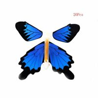Hot Blue Magic Flying Butterflys Change From Books/Empty Hands Freedom Trick
