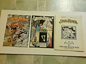 FIVE ORIGINAL EARLY  STAR REACH UNDERGROUND COMICS FROM THE 1970'S-NICE -COMIX