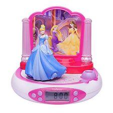 Lexibook Rp510dp Réveil Projecteur Disney Princess avec Radio