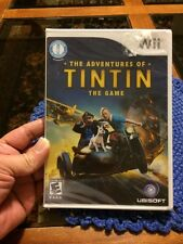 Ubisoft The Adventures Of TINTIN The Game Nintendo Wii Brand New Free Shipping