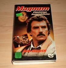 VHS - Magnum - Flüchtige Augenblicke - Tom Selleck - Videofilm - Videokassette