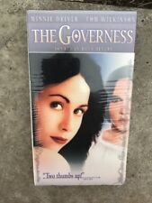 The Governess starring Minnie Driver , Tom Wilkinson VHS, 1999 New
