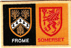 Boy Scout Double Badge Ext FROME/SOMERSET