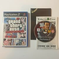 Grand Theft Auto: Liberty City Stories PS2 PlayStation 2 Game with map & manual