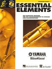 Essential Elements Bläserklasse Posaune in C im Bass-Schlüssel Band 1 Noten m CD