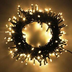 Fairy Lights LED Strings Christmas Mains Plug-in Outdoor Garden Xmas Home Decor