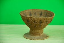 Antique Fine Northern California Indian Basket HUPA Tribe