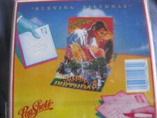 "Pop Shots PopShots ""Burning Birthday"" 3D Birthday Card- NIP PS-198 LOOK!"