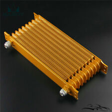 Universal Trust Style 15 Row AN10 Engine Transmission Oil Cooler 262mm Gold