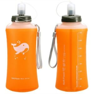 Outdoor Camping Hiking Foldable Water Bottle