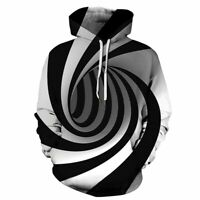 Pullover Hoodie Jumper Hooded Graphic Sweatshirt Unisex Womens Tops 3D Print