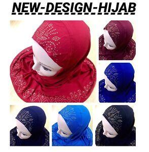 MUSLIM GIRLS KIDS READYMADE HIJAB HEADSCARF GIRLS HIJAB NEW DESIGN UK SELLER