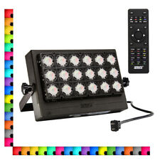SANSI 100W RGB LED Flood Light Outdoor Garden Party Yard Lamp Colors Changing