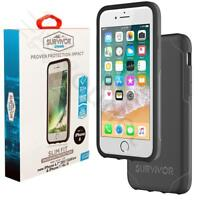 Griffin Survivor Strong Case for Apple iPhone 6 / 6S / 7 / 8  Black - Deep Grey