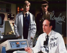 Doctor Who Photo Signed By Peter Miles, Martin Jarvis & Richard Franklin - B936