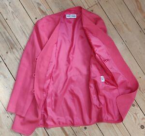 UK16 EU40 Cerise fully lined  Jacket: Gerry Webber formal, celebration, business