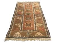 Vintage Afghan Kilim Rug Wool Tribal Handmade Carpet Flatweave Handknotted 3x4