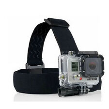 Camera Head Helmet Strap Mount Clamp Stand for GoPro HD Hero 2/3/3+/4 ABS