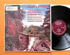 MMA 11010 Charles Ives Three Places In New England Howard Hanson Mercury NM/EX