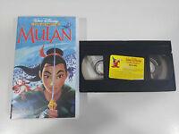 MULAN - VHS CINTA TAPE LOS CLASICOS DE WALT DISNEY COLECCIONISTA ESPAÑA