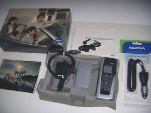 NOKIA 9500 COMMUNICATOR ORIGINALE 2004 UNICO+SCATOLA ACCESSORI COMPLETI ORIGINAL