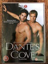 William Gregory Lee DANTE'S COVE Season 1 Gay Interest TV Series ~ UK DVD