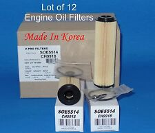 Lot of 12  OIL FILTER MADE IN KOREA SOE5514 Fits:MERCEDES BENZ C230 C250 SLK250