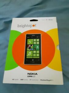 BRIGHTSPOT  NOKIA LUMIA 521 4G Windows 8 PREPAID PHONE POWERED BY T-MOBILE