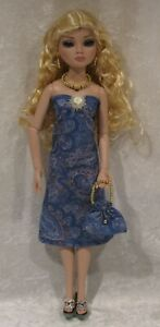 Made to fit ELLOWYNE Wilde, Prudence, Cami #32 Handmade Dress, Purse & Jewelry