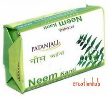 Patanjali Kanti Neem Body Soap(Cleanser) For Beautiful Skin 75g (1 Pack)