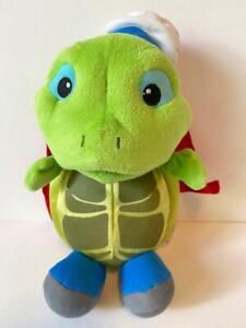 "2008 Mattel Viacom Fisher Price Wonder Pets Tuck Turtle plush 10"""