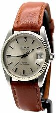 ♛ Tudor Rolex Oyster Prince Date 74034 Circa 1981 S Steel & White Gold ♛