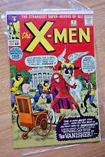 The X-Men #2 (Nov 1963 Marvel) Second app X-men Stan Lee Jack Kirby KEY
