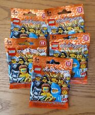 NEW LEGO SERIES 15 MINIFIGURES X5 BLIND BAGS BRAND NEW SEALED
