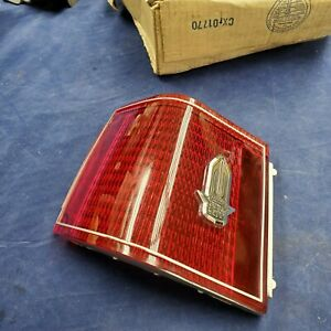 1976 77 78 Cadillac Seville NOS Left LH Taillight Outer Lens w/ Original Box
