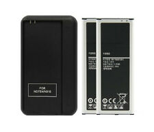 NEW 2* 3220mAh Battery+Charger For Samsung Galaxy Note 4 SM-N910 N910A N910P