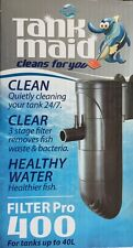 Blue Planet Tank maid Filter Pro 400 - Internal Filter for Tanks up to 40Lt